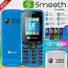 NEW Smooth Amigo Feature Phone UNLOCKED GSM MP3/MP4 Music Player DUAL SIM RADIO