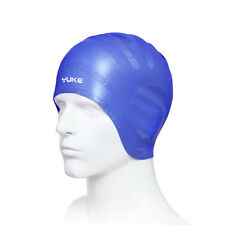 Adults Elastic Silicone Swimming Cap Hair Protection Bathing Hat Ears