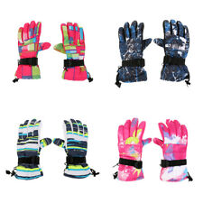 Winter Warm -30℃ Snow Motorcycle Snowmobile Snowboard Ski Gloves Waterproof