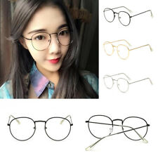 Unisex Men Womens Oval Clear lens Glasses & Sunglasses Shades Lady Party Eyewear