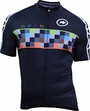 Assos SS Equipe Open Cycle Bike Jersey Black/Multicolour