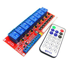 MagiDeal 1 pcs IR Smart Remote Control Switch Module Relay Borad 8 Channel