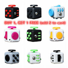 Magic Fidget Hand Spinner Puzzle Cube Anti-anxiety Adults Stress Relief Toy AU