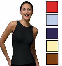 SPANX 982 On Top and In Control Sophisticated Sleeveless Crew Shapewear