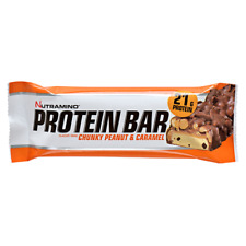 Nutramino Protein Bar, Post Workout Snack, Muscle Gain, Low Fat & Carbs 12x60g