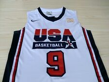 NEW MICHAEL JORDAN White Swingman Jersey 1992 USA Basketball Dream Team Olympic