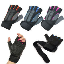 Body Building Fitness Exercise Workout Weight Lifting Gloves Gym Training Fast