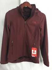 NEW THE NORTH FACE SHELBE RASCHEL HOODED JACKET SEQUOIA RED WOMENS S-M SHELL