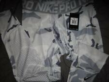 NIKE PRO CAMO COMPRESSION 3/4 LENGTH TIGHTS PANTS HYPER COOL SERIES MEN NWT