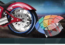 Strips Wheel Stickers And Decals For  Reflective Rim Tape Bike Motorcycle Car