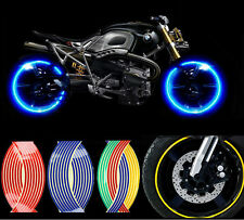 """12"""" Strips Wheel Stickers Decals For  Reflective Rim Tape  Bike Motorcycle Car"""