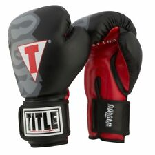 "TITLE Muay Thai Heavy Bag Gloves W/Free TITLE 180"" Classic Mexican Hand Wraps"
