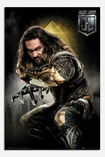 Justice League Aquaman Solo Poster New - Maxi Size 36 x 24 Inch