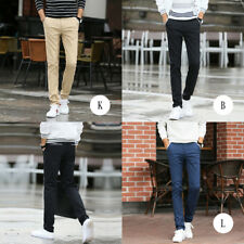 Autumn Straight pants Men's trousers Casual pants Multi-color ultra-thin pants