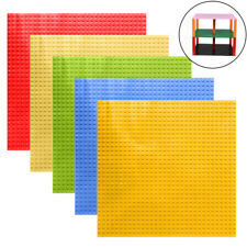 Double Side Baseplates Base Plates Brick Building 32 x 32 Dots Bluish Toy Toys
