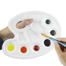 MagiDeal Plastic Art Paint Drawing Tray Color Palette for Oil Watercolor Gouache