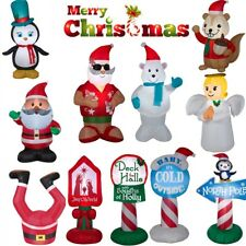 Inflatable Christmas Decoration Airblown Lighted Frosty Winter 4ft Yard Decor