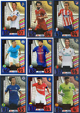 2017 2018 Topps Match Attax Champions League LIMITED EDITION gold silver bronze