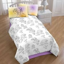 Disneys Beauty and the Beast Belle Twin Sheet Set by Jumping Beans NEW