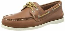 NEW Mens SPERRY TOP-SIDER Tan Leather A/O AUTHENTIC ORIGINAL 2-EYE Boat Shoes