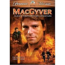 MacGyver - The Complete First Season (DVD, 2005, 6-Disc) Brand New!