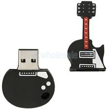 USB2.0 Memory Stick Flash Pen Drive Cartoon Electric Guitar Shape 16GB-256GB