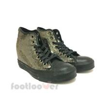 Converse All Star CT Lux Mid 559048C womens grey sneakers shoes sequins heel