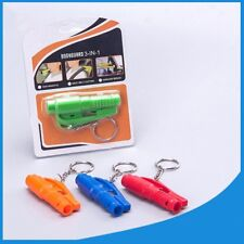 Keychain Car Emergency Rescue Safety Glass Breaker Hammer Escape Tool 5 Color