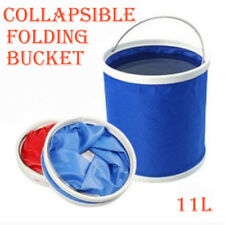 Outdoor Camping Fishing Folding Collapsible Water Bucket Container Car Storage