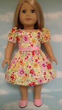 """Dress handmade to fit 18"""" American Girl Doll 18 inch Doll Clothes 24ab"""