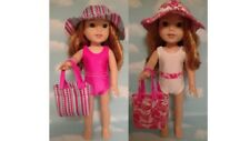 """Swimsuit For American Girl 14.5"""" Wellie Wishers Wisher Doll Clothes  708ab"""
