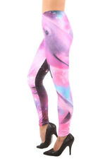IRON FIST DOLPHINOGRAPHY LEGGINGS PINK & MULTI-COLORED FANTASY ALL OVER PRINT