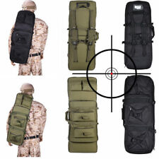 1.2m Long Padded Gun Case Tactical AR Hunting Bag Rifle Extendable Cover Fishing
