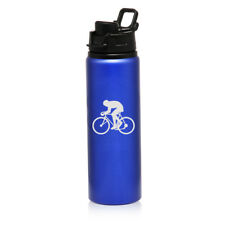 25oz Aluminum Sports Water Bottle Travel Cyclist