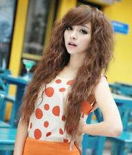 Wavy Fashion Sexy Long Curly Hot Hair Wigs Womens Party 3 Colors Cosplay