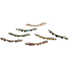 Hair Accessories Crystal Barrette Clips Hairpin Rhinestone Colorful Hair Clips