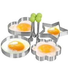 Kitchen Stainless Steel Omelette Egg Frying Mold Ring Pancake Fried Mould Mold