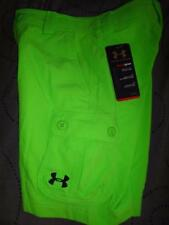 UNDER ARMOUR HEATGEAR DRESS GOLF SHORTS CARGO BOYS XL NWT $44.99