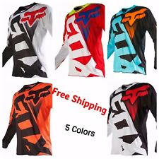 Motocross Racing Jersey FOX  Extreme Sports 5 Color Off Road Clothing Quick Dry
