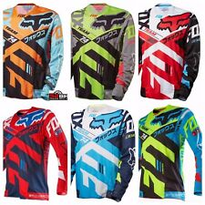 Motocross Racing Jersey FOX Team 74 Extreme Sports Off Road Clothing Quick Dry