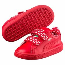 PUMA Basket Sesame Street® Elmo Mono Kids' Trainers Unisex Low Boot Kids