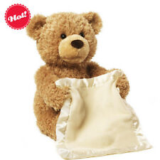 Baby Animated Peek a Boo The Teddy Bear Plush Soft Toy Baby Music Doll
