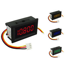 "3 Wire 0.36"" Digital LED Car Voltmeter Volt Panel Meter Gauge 3.5-30V Vary"