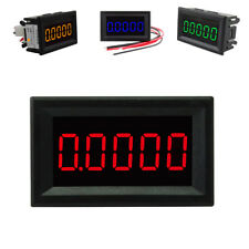 5 Digit LED DC 0-3.0000A Digital Current Meter Panel Ammeter w/ 4 Wire