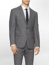 calvin klein mens x fit ultra slim fit donegal suit jacket