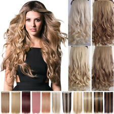 Real Thick,24-26Inch,3/4 Full Head Clip In Hair Extensions,Brown Black Blond A85