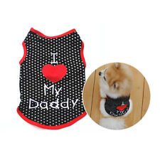Apparel Clothing For Dog Puppy Clothes Pet Dog Sleeveless Vest T-Shirt