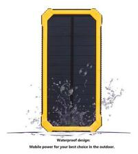 Waterproof Solar Charger 10000mAh Portable USB Battery Charger External Battery