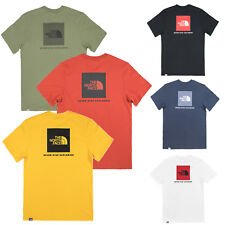 The North Face Men's T-Shirt S/S Box Red Label Men Shirt S up to XXL NEW