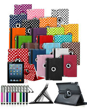 "Amazon Kindle Fire 7 (2017) 7"" Tablet - Folio Case 360 Rotation Cover & Ret Pen"